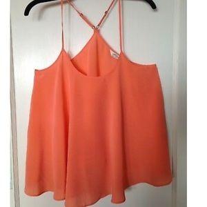All Saints Peach Teulada harness vest